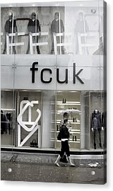 Fcuk Them Acrylic Print by Jez C Self