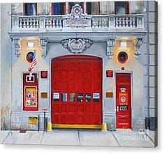 Fdny Engine Company 65 Acrylic Print by Paul Walsh