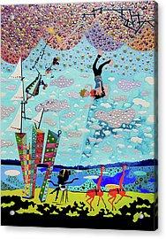 Fear Of Flying Acrylic Print