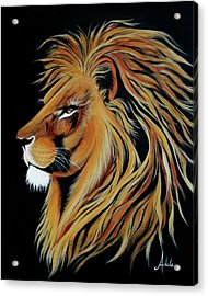 Fearless Acrylic Print by Adele Moscaritolo