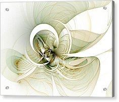 Feather Your Nest Acrylic Print