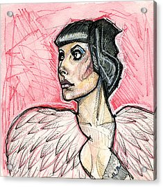Feathered Acrylic Print