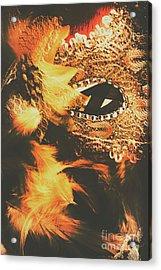 Feathers And Femininity  Acrylic Print by Jorgo Photography - Wall Art Gallery
