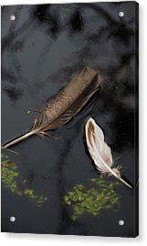 Surface Deep Acrylic Print by Marilyn Wilson