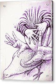 Fecundate A Future Of Peace Acrylic Print by Paulo Zerbato