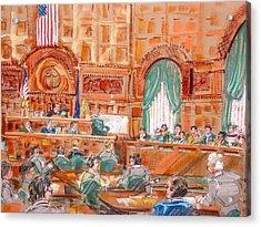 Federal Court Acrylic Print