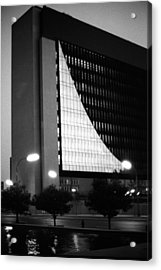 Federal Reserve Building At Twilight Acrylic Print