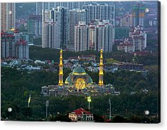 Federal Territory Mosque Acrylic Print by David Gn