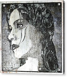 Federica Classic Silver Italy Acrylic Print by Tony Rubino