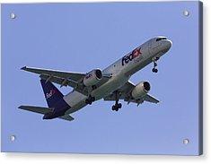 Fedex 757  Acrylic Print