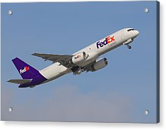 Fedex Jet Acrylic Print