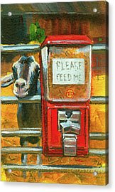 Feed Me Acrylic Print