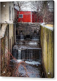 Acrylic Print featuring the photograph Feeder Canal Lock 13 by Kendall McKernon