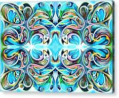 Feeding Frenzy 2 Acrylic Print by Ky Wilms