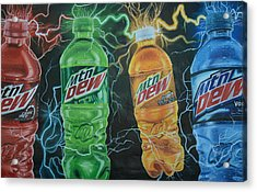 Feel The Dew Acrylic Print