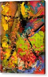 Feeling Free Acrylic Print by Angela L Walker