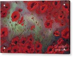 Feeling Poppy Acrylic Print