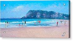 Feels Like Summer At Burleigh Heads Gold Coast Acrylic Print