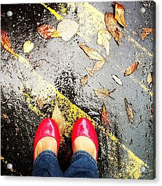 Feet Around The World #29 Acrylic Print