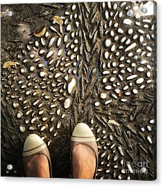 Feet Around The World #32 Acrylic Print
