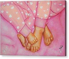 Feet Fete Acrylic Print by Joni McPherson