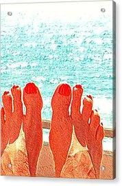 Feets Don't Fail Me Now Acrylic Print