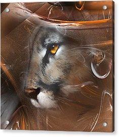 Feline Princess Acrylic Print