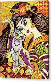 Feline Rhapsody Acrylic Print