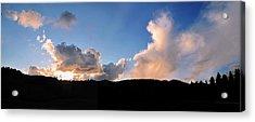 Felton Sunset Acrylic Print by Larry Darnell