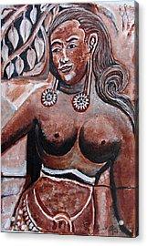 Femail Figure Acrylic Print