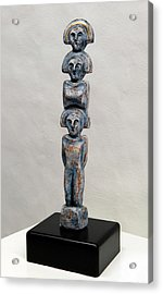 Female Figurine - Goddess Worship - Matronen - Matrone - Matrones - Matron - Nettersheim Eifel  Acrylic Print