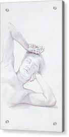 Female Head And Torso Acrylic Print