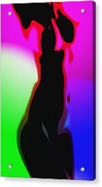 Female In Color 2 Acrylic Print by Steve K