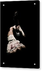 Female Toughness Acrylic Print