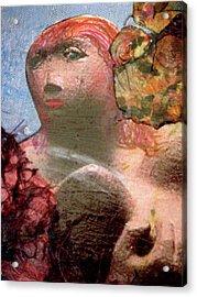 Femininity Acrylic Print