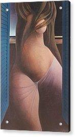 Femme Aux Volets Acrylic Print by James LeGros