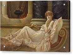 Femme Sur La Chaise Acrylic Print