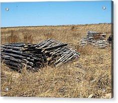 Fence Bails Acrylic Print