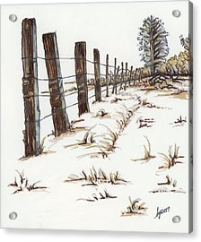 Walnut Farm Acrylic Print