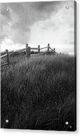 Acrylic Print featuring the photograph Fence by Tom Romeo