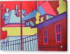 Fenced In  Acrylic Print by Debra Bretton Robinson