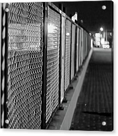Fenced In Or Fenced Out Acrylic Print