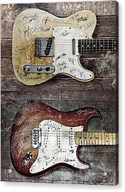 Fender Guitars Fantasy Acrylic Print