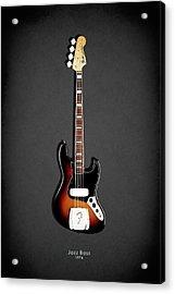Fender Jazzbass 74 Acrylic Print