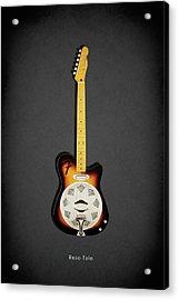 Fender Reso-tele Acrylic Print by Mark Rogan