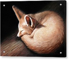 Fennec Fox Acrylic Print