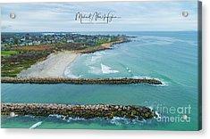 Fenway Beach, Weekapaug Acrylic Print