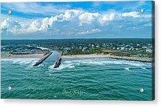 Fenway Beach, Weekapaug,ri Acrylic Print