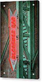 Fenway Park Bleacher Bar - #1 Acrylic Print