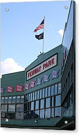Fenway Park Centennial Acrylic Print by Loud Waterfall Photography Chelsea Sullens